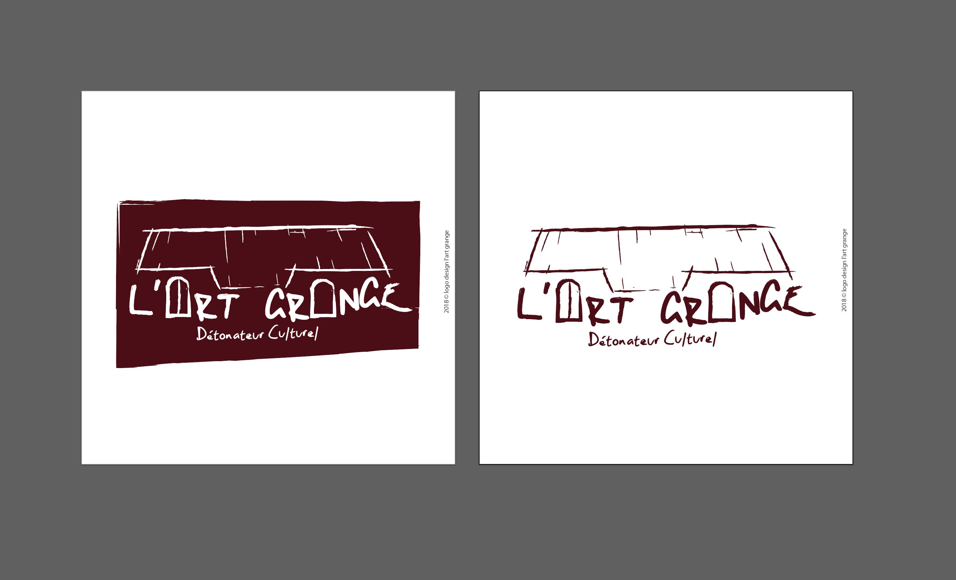 Logo Design pour L'Art Grange (Fr)