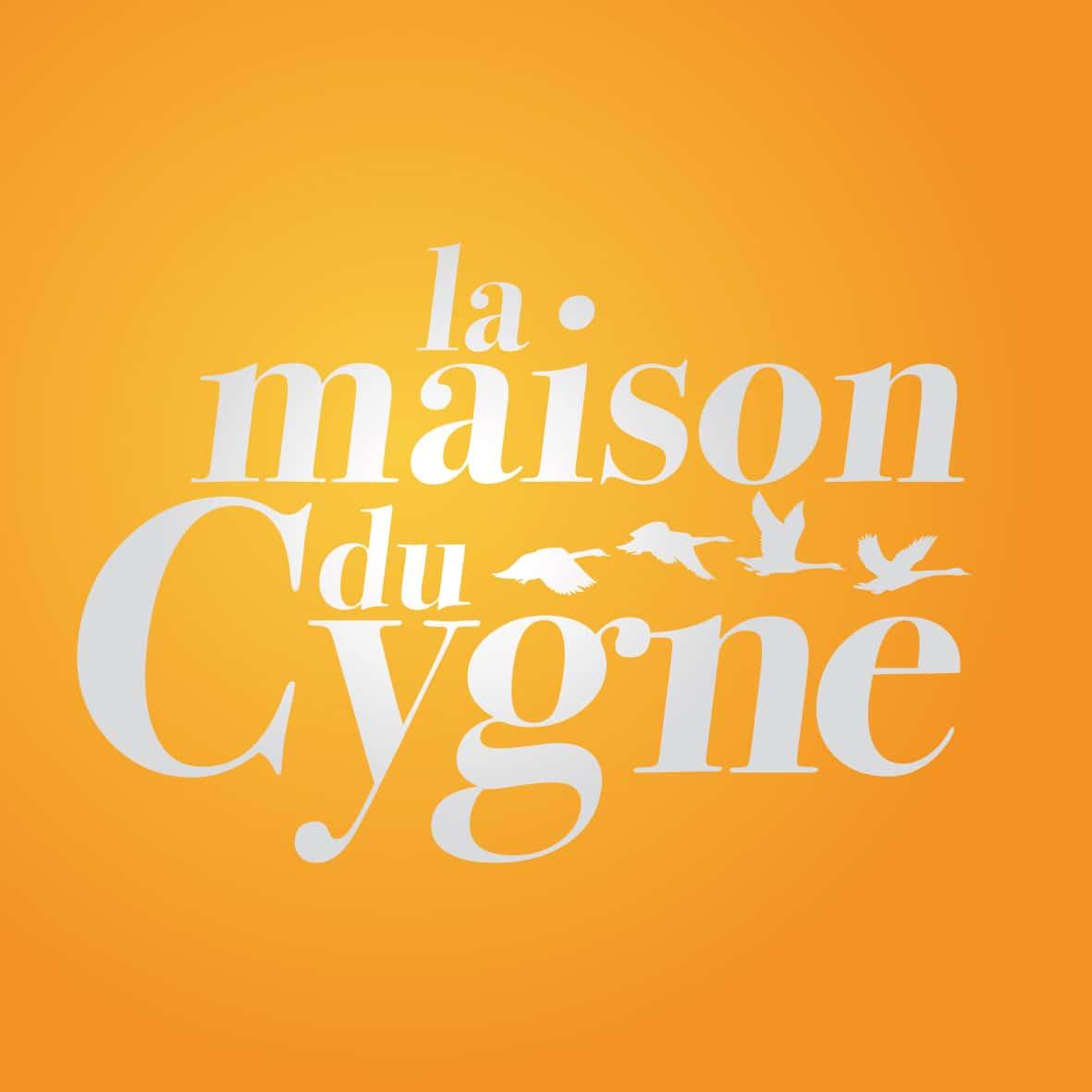 Réalisation du logo de la Maison du Cygne. Original ArtWork -  Customized