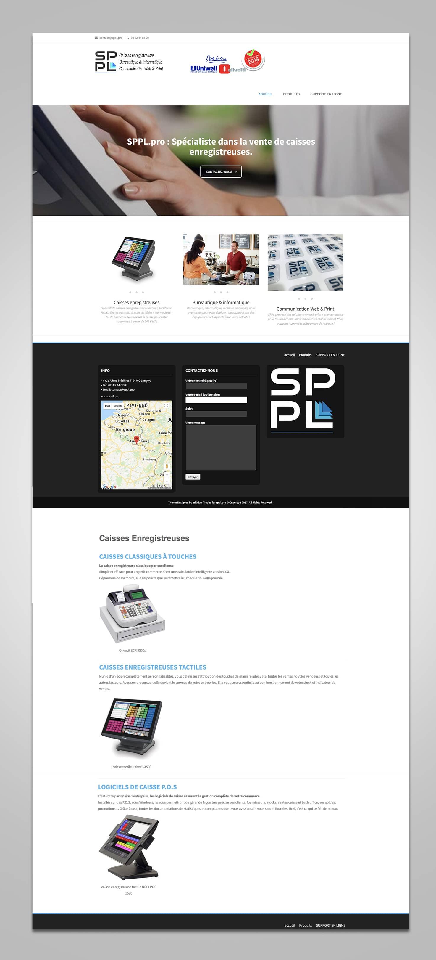 Site web SPPL.pro pour SPPL (Fr)